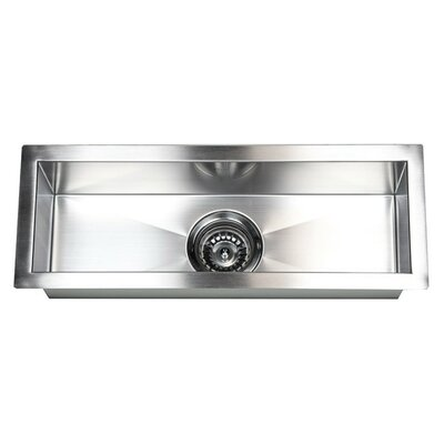 23 x 8.5 Single Narrow Bowl Undermount Kitchen Sink