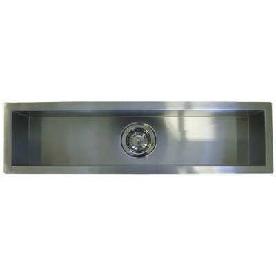 42 x 8.5 Single Narrow Bowl Undermount Kitchen Sink
