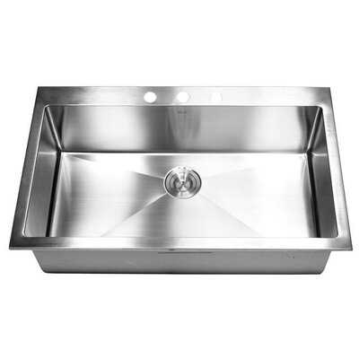 36 x 22 Single Bowl Kitchen Sink