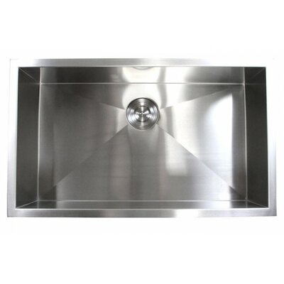 32 x 19 Single Bowl Undermount Kitchen Sink