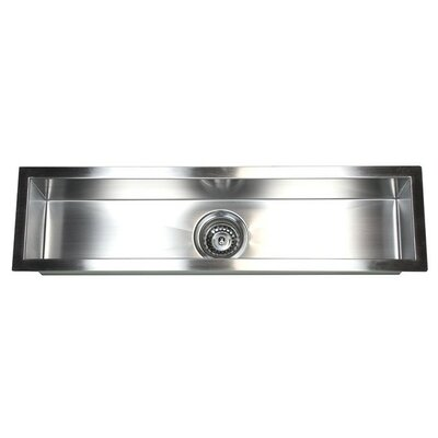32 x 8.5 Single Narrow Bowl Undermount Kitchen Sink