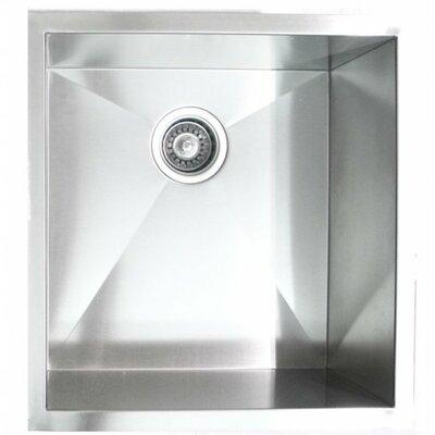 19 x 20 Single Bowl Undermount Kitchen Sink