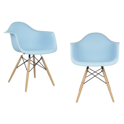Harrison Dining Chair Finish: Light Blue