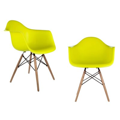 Harrison Dining Chair Finish: Light Yellow