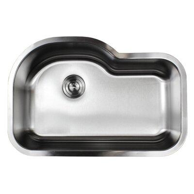 Ariel Pearl 31.5 x 21.13 Single Bowl Kitchen Sink