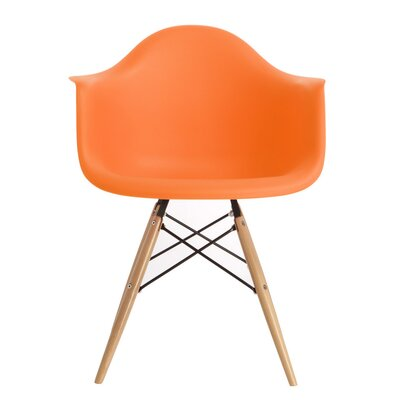 Harrison Dining Chair Finish: Orange