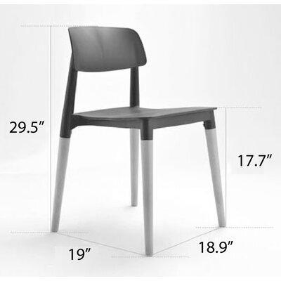 Bel Side Chair Finish: Grey