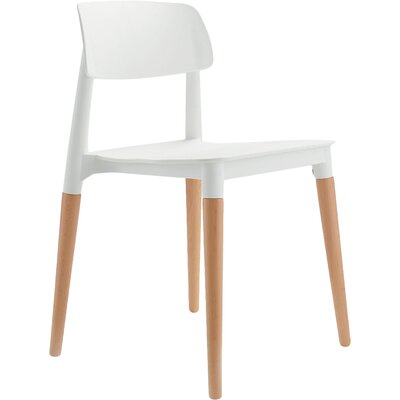 Bel Side Chair Finish: White