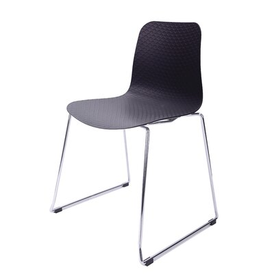 Hebe Series Side Chair Finish: Black
