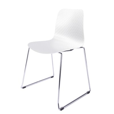 Hebe Series Side Chair Finish: White