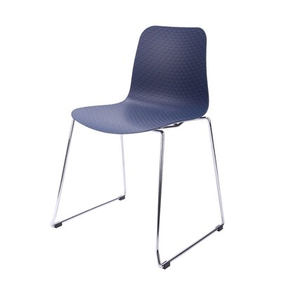 Hebe Series Side Chair Finish: Navy