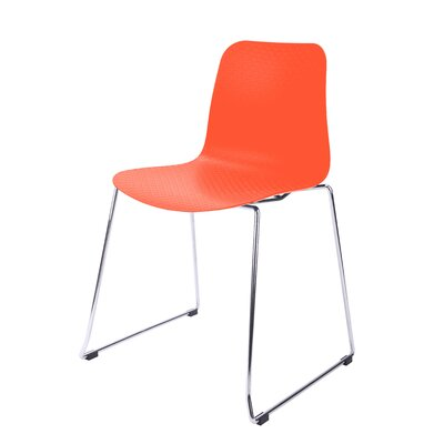 Hebe Series Side Chair Finish: Orange