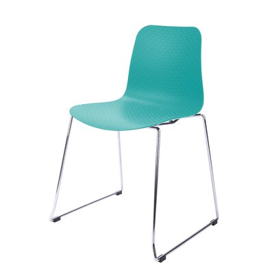 Hebe Series Side Chair Finish: Turquoise