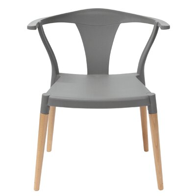 Icon Side Chair Finish: Gray