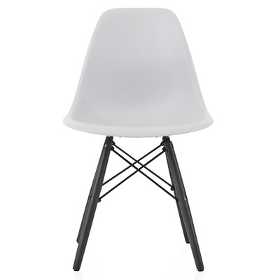 Onyx Solid Wood Dining Chair Finish: Light Gray