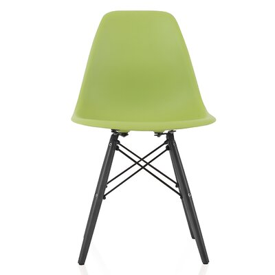 Onyx Solid Wood Dining Chair Finish: Green