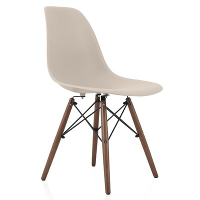 Nature Series Solid Wood Dining Chair Finish: Cream Beige