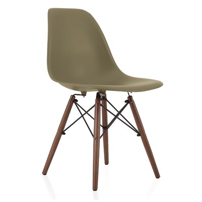 Nature Series Solid Wood Dining Chair Finish: Earth Green