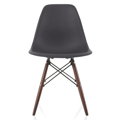 Nature Series Solid Wood Dining Chair Finish: Carbon Gray