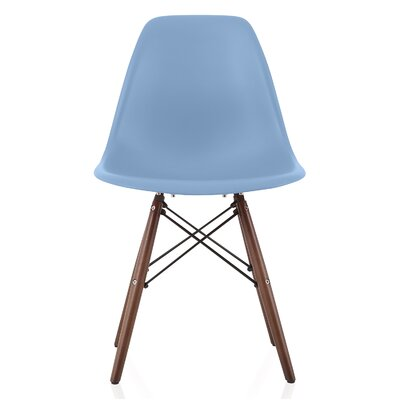 Aquarius Dining Chair Color: Slate Blue