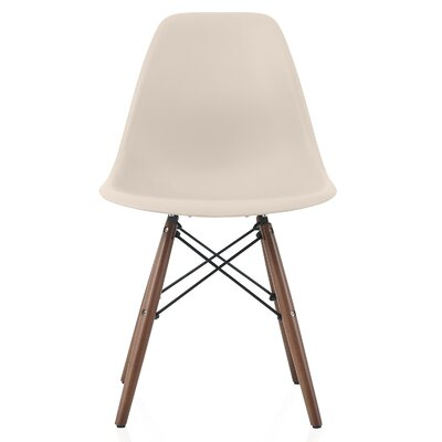 Aquarius Dining Chair Color: Beige