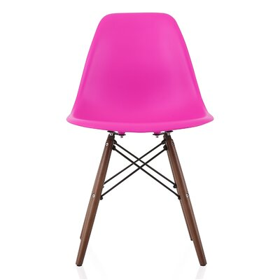 Aquarius Dining Chair Color: Shocking Pink