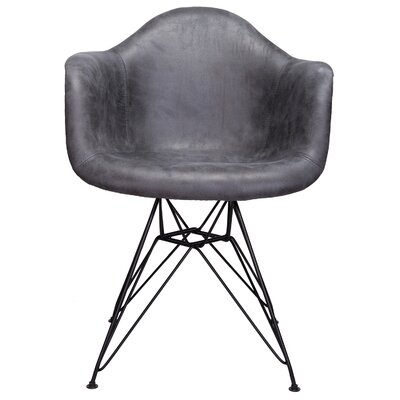 Laure Armchair Upholstery: Gray