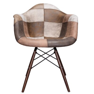Cyril Armchair Finish: Brown