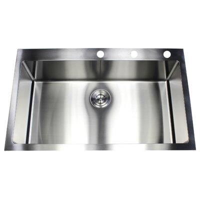 36 x 22 Single Bowl Kitchen Sink