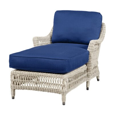 Wildon Home Chaise Lounge with Cushion - Fabric: Flagship Papyrus