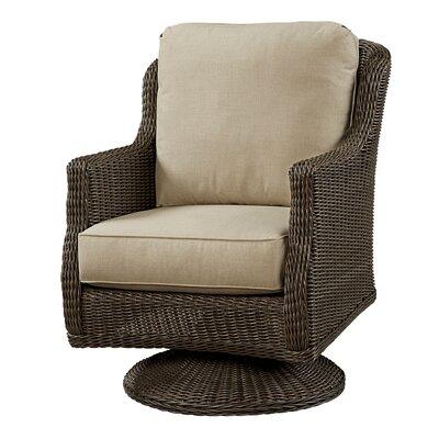Wildon Home Swivel Rocker Chair with Cushion - Fabric: Flagship Papyrus
