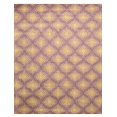 Purple Paris Area Rug Rug Size: 79 x 99