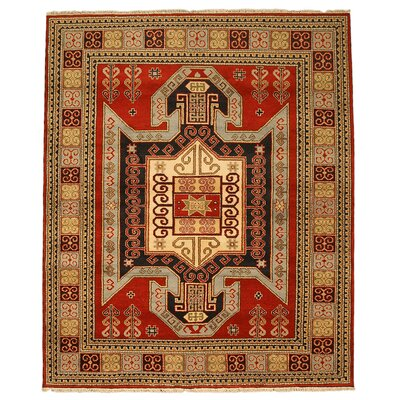 Kazak Hand Knotted Area Rug Rug Size: 8 x 10