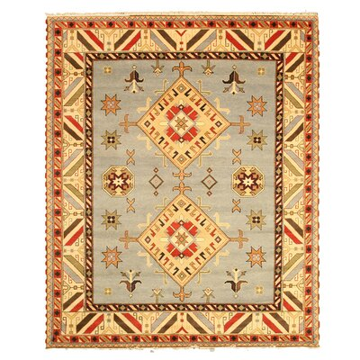 Kazak Hand Knotted Area Rug Rug Size: Rectangle 8 x 10