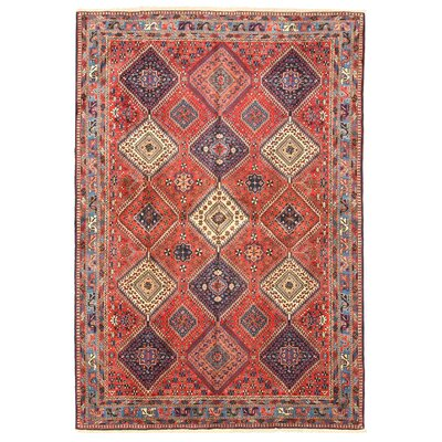 Middleton Rust Hand-Knotted Area Rug