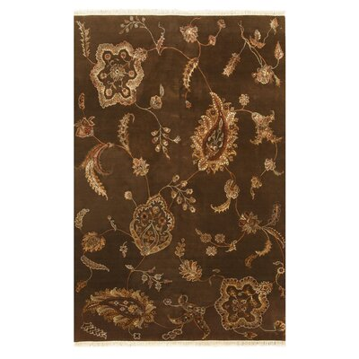 Jaipur Hand-Knotted Brown Area Rug