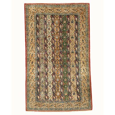 Qum Hand-Knotted Area Rug