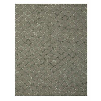 Marakesh Hand-Woven Charcoal Area Rug Rug Size: 6 x 9