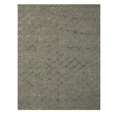 Marakesh Hand-Woven Charcoal Area Rug Rug Size: 8 x 10