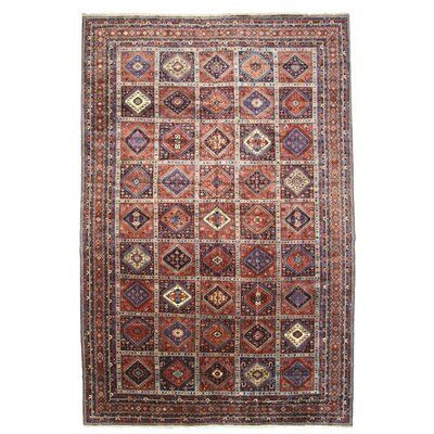 Hand Knotted Copper Area Rug