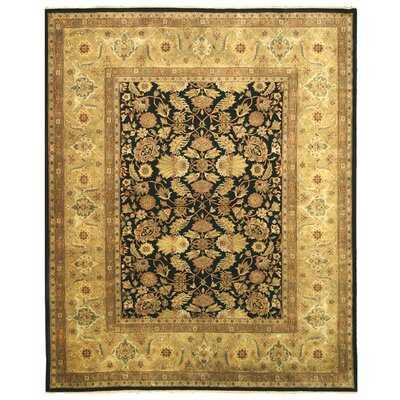 Hand Knotted Ivory Area Rug