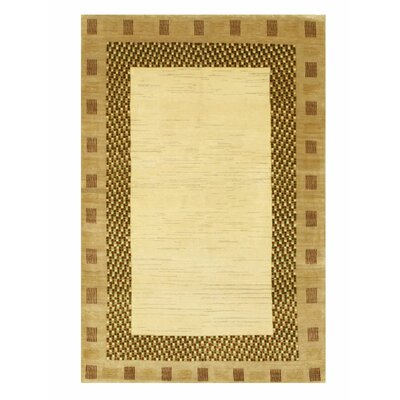 Lori Baft Hand-Knotted Ivory Area Rug