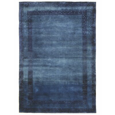 Lori Baft Hand-Knotted Blue Area Rug