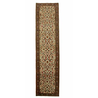 Aren Hand-Knotted Beige Area Rug
