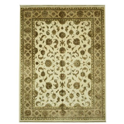 Jaipur Hand-Knotted Brown/Beige Area Rug
