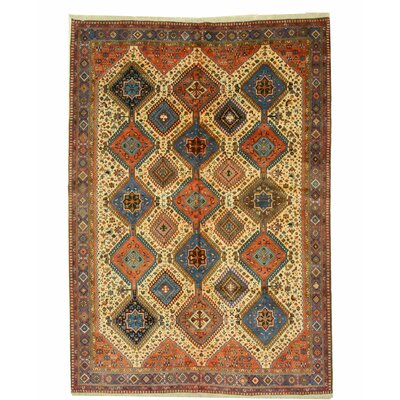 Middleton Hand-Knotted Beige Area Rug