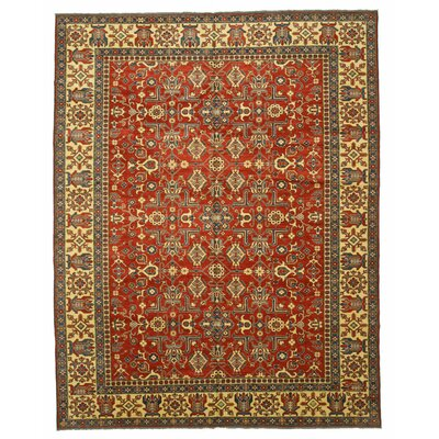 Kazak Hand-Knotted Red/Brown Area Rug