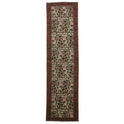 Tafresh Hand-Knotted Red/Ivory Area Rug