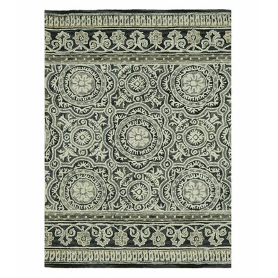 Claire Hand-Tufted Blue/Gray Area Rug