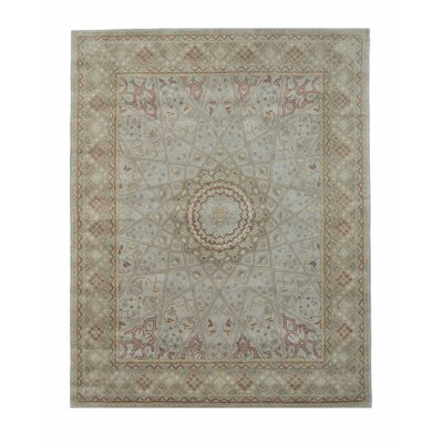 Gonbad Hand-Tufted Gray Area Rug Rug Size: 5' x 8'